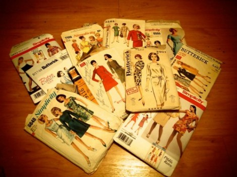 1960s sewing patterns